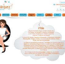 Web Ru Márquez. Um projeto de Desenvolvimento Web de Silvia Quintanilla - 21-10-2015