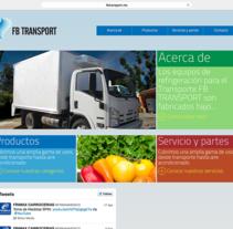 FB TRANSPORT: SITIO WEB. Um projeto de Desenvolvimento Web de Juan Pablo Calderón Preciado - 25-07-2012