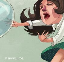 Mentes evasivas. A Illustration project by Montse Casas Surós - Oct 26 2015 12:00 AM