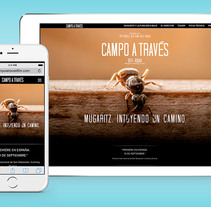 CAMPO A TRAVÉS. Mugaritz, intuyendo un camino. A Web Design, and Web Development project by Iván Salzman         - 25.10.2015
