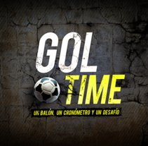 Gol Time - Videojuego iPhone. A Software Development, Art Direction, Web Design, and Motion Graphics project by Marianito Rivas - May 01 2012 12:00 AM