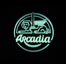 Arcadia. A Motion Graphics, Br, ing, Identit&Interior Architecture project by mimetica - Oct 27 2015 12:00 AM