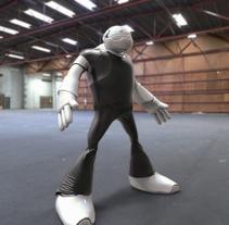 Roboto. Un proyecto de Animación y Diseño de personajes de Toni Ortin         - 17.06.2016