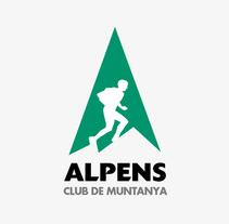 Alpens Club de Muntanya. Un proyecto de Br e ing e Identidad de xmgrafic - 11-11-2015