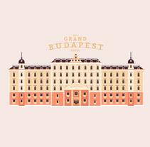 Títulos de crédito El Gran Hotel Budapest. Um projeto de Motion Graphics de Diego Ramírez - 12-11-2015