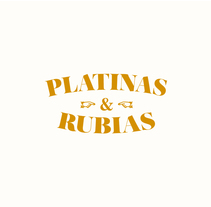 ━ PLATINAS & RUBIAS. A Illustration, Art Direction&Information Design project by Nuria  López - 16-11-2015