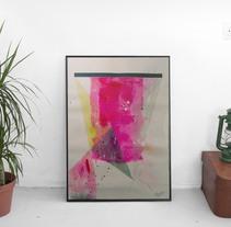ACrílico sobre papel. Um projeto de Artesanato, Artes plásticas e Pintura de Pilarcho Yanguas - 08-03-2015