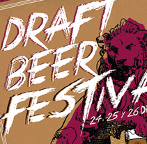 Draft Beer Festival. A Graphic Design project by Laura R. del Amo         - 19.06.2015