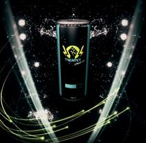 Energy drink intro. Um projeto de Motion Graphics, 3D e Animação de Rebeca G. A         - 22.11.2015