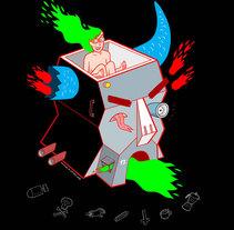 Diseños para camisetas y sudaderas de Mono y Mona . Un proyecto de Ilustración y Diseño de complementos de Miguel B. Núñez         - 23.11.2015