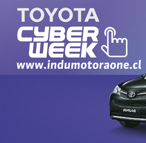 Cyber Week Indumotora One. A Design, and Graphic Design project by David Pérez Baeza         - 23.11.2015