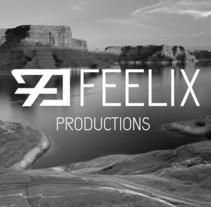 Logotipo Feelix Productions. Um projeto de Design gráfico de Nicolás Chinchilla Escribano         - 10.07.2014