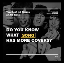 Top Best 40 Songs of All Time - Corporate Identity. Un proyecto de Dirección de arte, Br, ing e Identidad y Diseño gráfico de Dario Trapasso - 02-12-2015