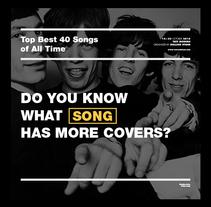 Top Best 40 Songs of All Time - Corporate Identity. Un proyecto de Dirección de arte, Br, ing e Identidad y Diseño gráfico de Dario Trapasso - 02-12-2015