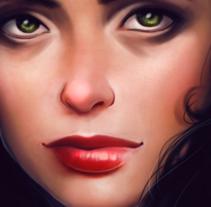 Jessica Jones . Un proyecto de Ilustración de Ana del Valle Seoane         - 06.12.2015