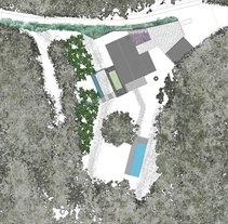 Jardín en Hostalrich. Um projeto de Paisagismo de Sergio Lobato         - 08.12.2015