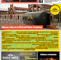 Newsletter. . A Art Direction, Editorial Design, Fine Art, Graphic Design, Web Design, and Web Development project by Carmen Villar Guillamón         - 19.02.2012