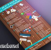 Diseño infografías propias. Um projeto de Design gráfico e Marketing de Susana Bernal González         - 14.12.2015