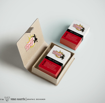 Diseño de catálogo y tarjetas para la empresa Tiempo Libre 2.0. Un proyecto de Diseño gráfico de Verónica Martín         - 06.12.2015