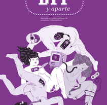 Ilustración de portada y patrón interior en la revista de videojuegos BIT y Aparte.. A Illustration, and Graphic Design project by Byron Maher ( bymah ) - 26-12-2015