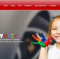 Copy Arte Marbella. Un proyecto de UI / UX, Marketing, Diseño Web y Desarrollo Web de Antonio M. López López - 27-08-2015