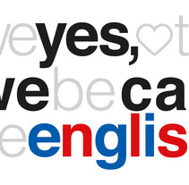 Yes We Can English (gabinete de inglés personalizado). A Design, Advertising, Art Direction, Br, ing, Identit, Graphic Design, and Web Development project by Montse Pociello - 28-12-2015