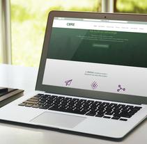 Web presentación corporativa - CBRE. A Graphic Design, Web Design, and Web Development project by LeBranders Global Design Solutions         - 30.12.2015