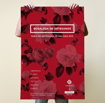 Rosaleda de artesanos 2015. A Br, ing, Identit, Editorial Design, and Graphic Design project by Think Diseño - Jan 04 2016 12:00 AM