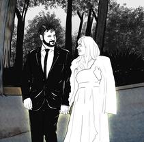 Mixed Wedding Art. Um projeto de Design, Design gráfico e História em quadrinhos de Alessandro Alexira Aiello         - 03.01.2016