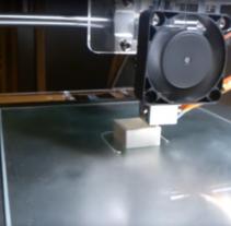 Impresión 3D. Un proyecto de 3D de Tano Lombardo - 03-01-2016