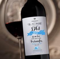 Diseño de etiqueta para Vinos. Un proyecto de Diseño de Julieta Almaraz         - 07.11.2015