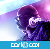 Carl Cox. Digital. A Design, Illustration, Fine Art, Graphic Design, Lighting Design, and Painting project by BORCH         - 11.01.2016