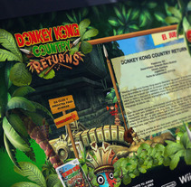 Minisitio Donkey Kong Country. A UI / UX, Art Direction, Graphic Design, Web Design, and Web Development project by Gerardo Sepúlveda         - 30.09.2012