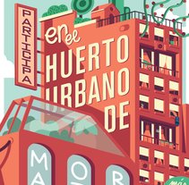 El jardin de Moratalaz. Um projeto de Design, Ilustração, Cinema, Vídeo e TV e Animação de Lalo Garcia          - 15.01.2016