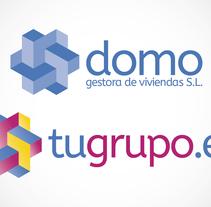 Logotipo Domo Gestora. A Graphic Design project by José Luis Cid         - 10.01.2016