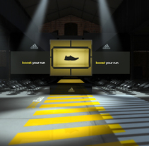 ADIDAS BOOST. A Events, and Set Design project by nacho luna         - 21.01.2016
