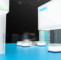 Stand Haier. A Architecture&Interior Architecture project by Nicolas Poitou         - 23.01.2016