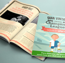 Revista Champions League. A Illustration, Editorial Design, and Graphic Design project by Carlos  Sánchez Gallego - 24-01-2015