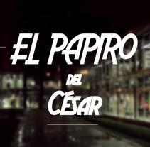 Astérix, El Papiro de César. Um projeto de Vídeo de Fernando Pérez de Sevilla - 25-01-2016