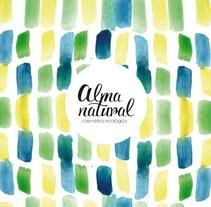 Proyecto para Alma Natural - cosmética ecológica. Un proyecto de Packaging y Diseño de producto de Paula Milazzo - 04-02-2016