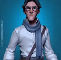 Student. Um projeto de 3D e Design de personagens de gesiOH         - 27.01.2016