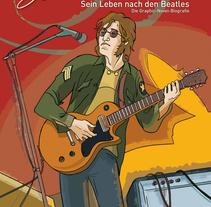 """""""John Lennon. Sein Leben Nach Den Beatles"""". A Comic project by Olga Carmona Peral - 14-12-2015"""
