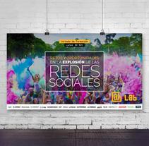 Cartel para Jornadas Formativas. Un proyecto de Dirección de arte y Diseño gráfico de Rebeca Ramiro Ríos - 29-11-2015