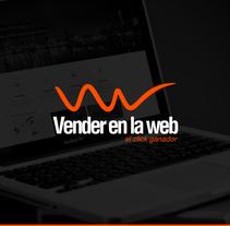 """Imagen corporativa """"Vender en la Web"""". Un proyecto de Diseño, Br, ing e Identidad, Diseño gráfico y Diseño Web de Daniel Puente Morales         - 28.02.2014"""