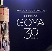 Patrocinio 30 edición Premios Goya - Saphir Parfums. A Advertising, Art Direction, and TV project by Albert Gómez Belmonte         - 02.02.2016