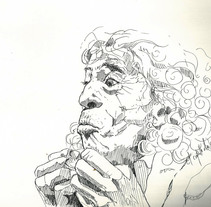 Flamenco. Tinta negra. A Fine Art project by Carlos Pérez Galán         - 09.12.2014