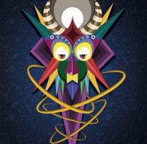 Ilustracion. Deidades . A Design, Illustration, and Graphic Design project by Madness Design         - 05.11.2016