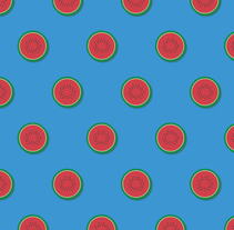 fruit patterns. Un proyecto de Ilustración de Maria Miró - 08-02-2016