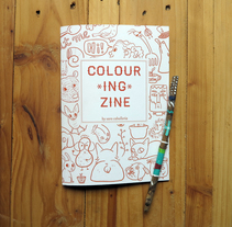 Colouring Zine. A Illustration, and Editorial Design project by Sara Caballería         - 08.02.2016
