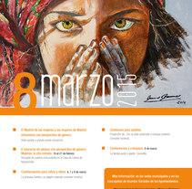 8 de marzo. Un proyecto de Diseño gráfico de Ana Cristina Martín  Alcrudo - Domingo, 08 de marzo de 2015 00:00:00 +0100